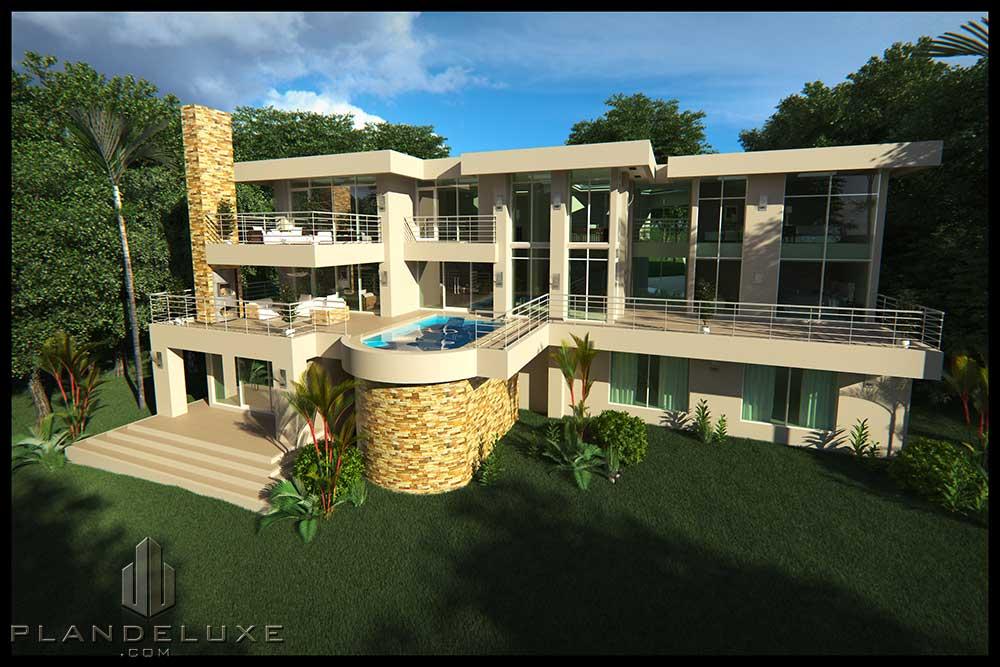 MX750T - 6 Bedroom House Plan