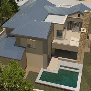 Modern 4 bedroom house plan designs 4 bedroom house designs modern house designs double storey house designs Modern house plan with photos luxury house floor plans tuscan house designs double story house plans Plandeluxe