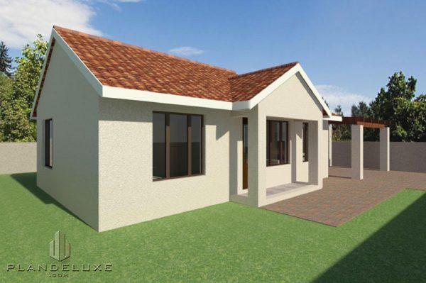 2 bedroom house plans designs Plandeluxe