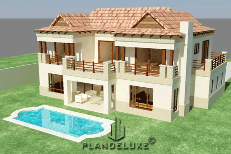 Small 3 Bedroom 2 Story House Plan 250m Home Designs Plandeluxe
