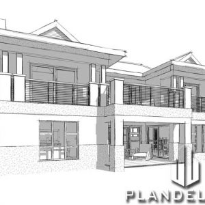 unique 3 bedroom house plans 3 bedroom 2 bathroom house plans 3 bedroom modern house plans 3 bedroom house plan design pdf 3 bedroom house floor plans Plandeluxe