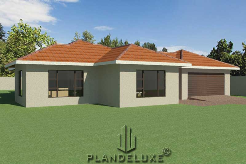 193sqm 3 Bedroom Ranch House Plan Single Story Designs Plandeluxe