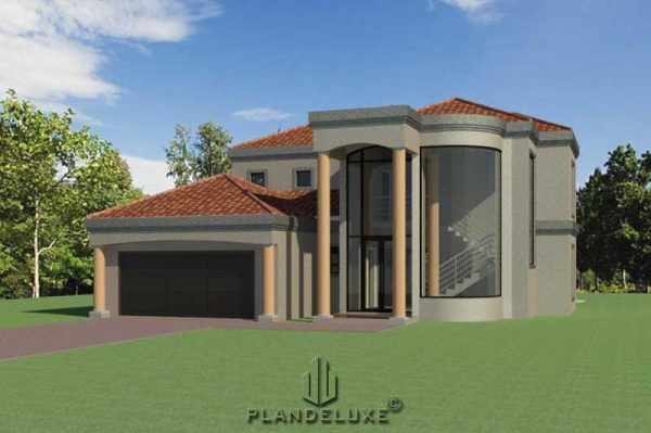 3 bedroom house floor plans, double story house designs, Plandeluxe