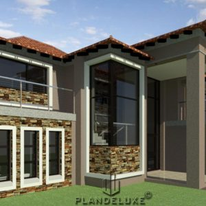 4 bedroom house plans with 3 garages, 4 bedroom house plans pdf download, free house plans download, unique house plan design, double storey house plans with photos, Plandeluxe