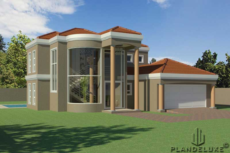382sqm 382 4 bedroom Double Story House Plan   Home Design ...