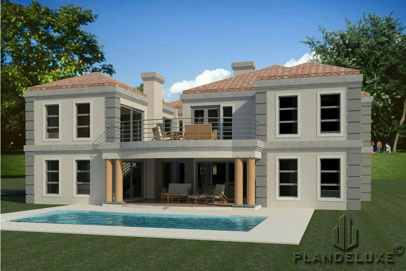 480sqm 5 Bedroom House Plan | 2 Story House Designs ...