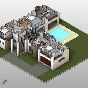 3 bedroom house plans, double storey house plan designs, house plans with photos, dream house plans, 3d floor plans, Plandeluxe