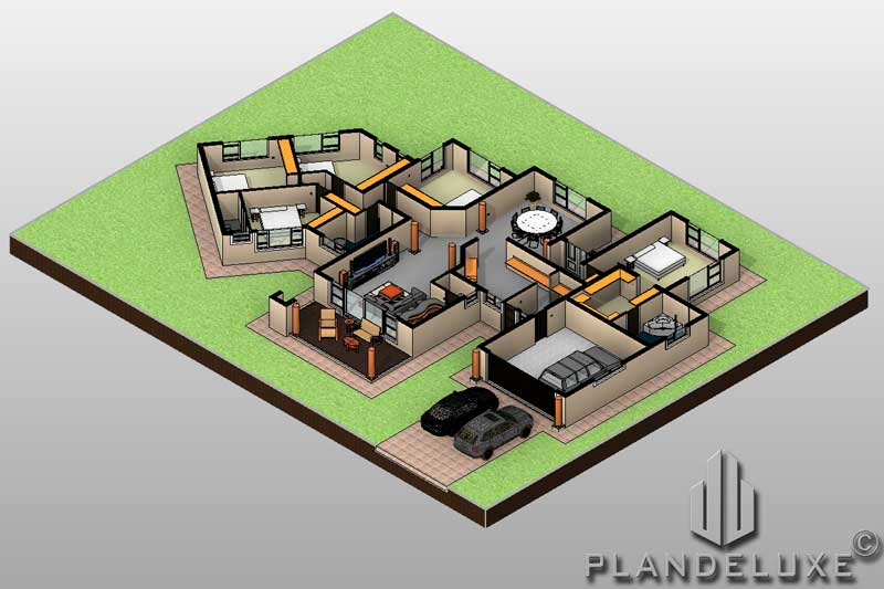 5 Bedroom Single Storey House Plan With Photos For Sale Plandeluxe,Parmesan Herb Crusted Chicken Cheesecake Factory Recipe