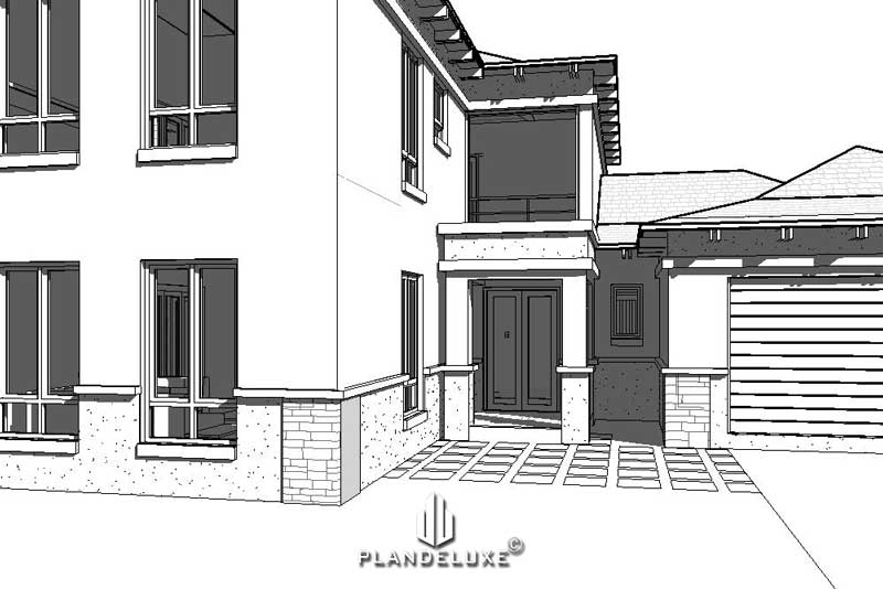 Double Story House Design Bali Style 5 Bedroom House ...