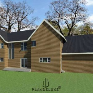 Double story ranch style house plan, House plans with photos, house plans in south africa free download, free modern house plans south africa, Plandeluxe