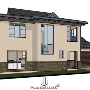 3 bedroom house plans for sale, 201sqm floor plan, double story house design, Plandeluxe