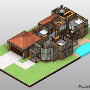 Double story house plan, first floor plan, 4 bedroom house floor plan design, Tuscan house design plans, floor plans with photos for sale, Plandeluxe