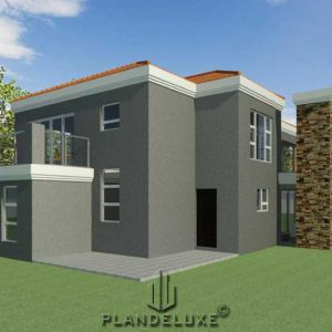 5 bedroom house plan design, Plandeluxe