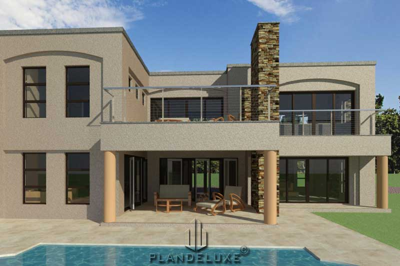 410sqm Double Story 4 Bedrooms Modern