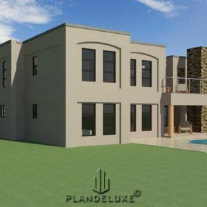 4 bedroom house plan designs, double story house plans with photos, architecture design_Plandeluxe
