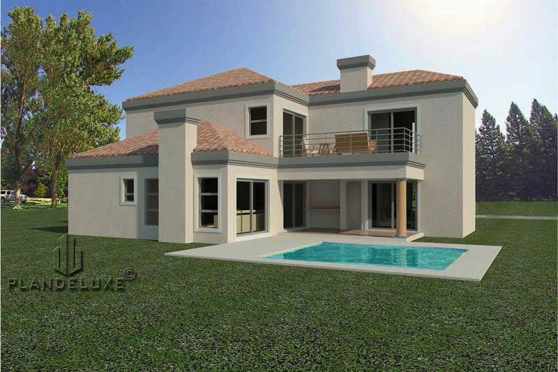 3 Bedroom Tuscan House Design 252sqm House Plans ...