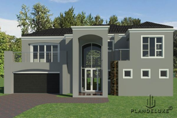 Modern 3 Bedroom House Plans [277sqm] | House Designs | Plandeluxe, house plans with photos, house plans designs