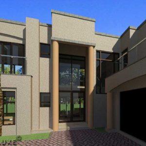 double story 4 bedroom house floor plans 2 story modern house plans Plandeluxe