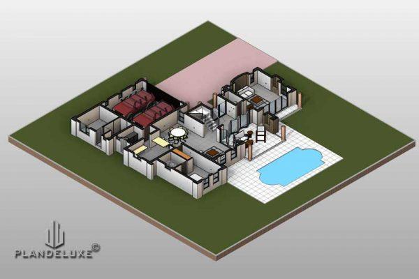 4 bedroom house plan designs 2 story floor plan Plandeluxe