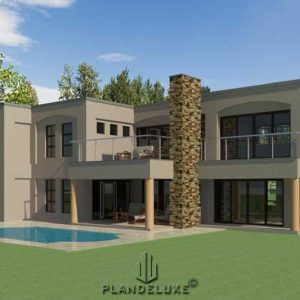 modern 2 story house plans 4 bedroom 2 story house plans 4 bed 2 story floor plans modern 2 story home designs Plandeluxe