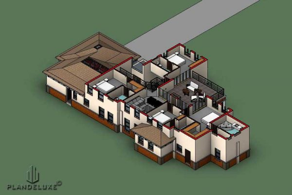 5 bedroom house plans 3d, 5 bedroom house plans with photos, 5 bedroom house plans with 3 garages, 5 bedroom house plans pdf download, 5 bedroom house plans double story, Plandeluxe