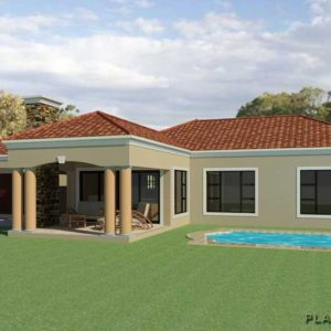 modern ranch style homes contemporary house plans single story simple ranch house plans ranch style house plans with open floor plan 1 story modern ranch house plan Plandeluxe