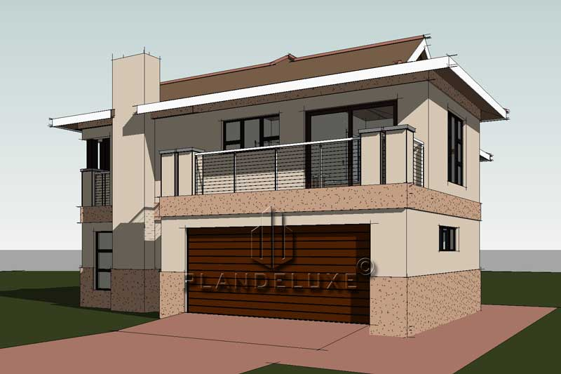 Simple 3 Bedroom House Plans With A Garage | Bali Style ...