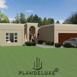 simple u shaped house plan designs 4 bedroom 1 story house plans Plandeluxe
