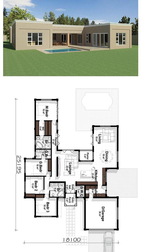 u shaped house plans breezeway floor plans courtyard floor plans u shaped house plan picturesPlandeluxe
