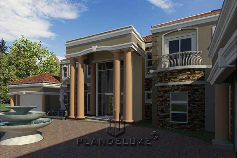 5 Bedroom Modern House Plan For Sale House Plan Designs Plandeluxe
